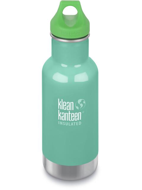 Klean Kanteen Kid Classic Vacuum Insulated Bottle Loop Cap 355ml Sea Crest